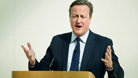 UK's Cameron hits 'patriotic' note for EU membership