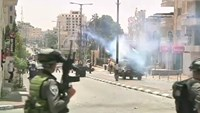 Stun grenades, tear gas mark Palestinian Nakba Day