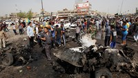 Scores killed in Baghdad bombings