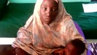 First look at freed Nigerian schoolgirl