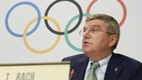 Bach says the IOC will act if athletes and federations are guilty of doping