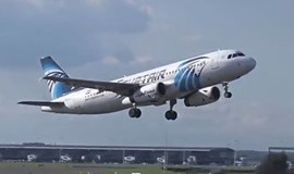 EgyptAir plane 'swerved' in mid air before plunging