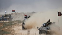 Iraqi forces pound IS on Day Two of Falluja offensive