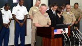 US forces hold month of mourning for murdered Japanese