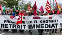 Fears of a standoff in French labor protests