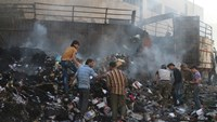 Syrian and Russian aircraft step up bombing of Aleppo city: monitor