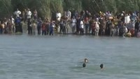 Fleeing Falluja civilians risk Euphrates crossing