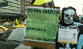 Taxi drivers hope to put the brakes on Uber in Argentina