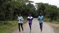 Kenya-based refugees running for Rio