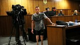 Pistorius walks on stumps in court to avoid jail