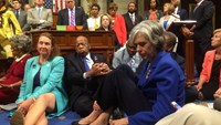 U.S. Democrats occupy Congress over gun control