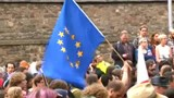 Hundreds in Scotland protest Brexit