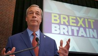 Anti-EU champion Farage quits after Brexit vote