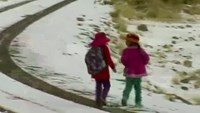 Cold snap freezes Peru's Andes