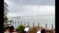 Cuban waterspouts injure dozens