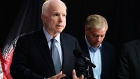 U.S. senators warn against troop cuts in Afghanistan