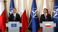 "Stoltenberg: NATO faces ""more dangerous world"""