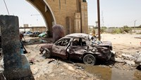 Islamic State car bomb attack kills seven north of Baghdad