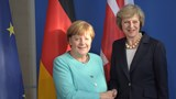 Next stop, Brexit as May meets with Merkel