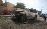 Suicide blasts kill 13 at Somalia peacekeeping base