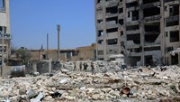 Syrian military calls for surrender of Aleppo rebels