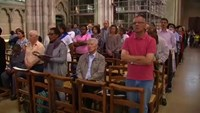 Muslims attend Catholic mass in solidarity after French church attack