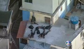 Brazil's National Security Force shot at in Rio favela