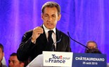 Tough talk from France's Sarkozy
