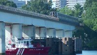 D.C. metro holds derailment response drill over Potomac