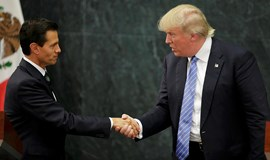 Trump discusses border wall with Mexico, no mention of payment