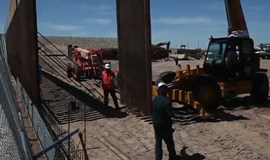 U.S. strengthens its El Paso border wall with Mexico