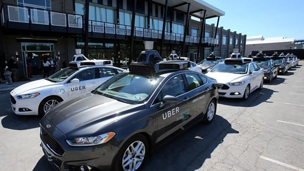 Uber debuts self-driving cars