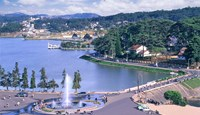 Da Lat town will be expanded over the next 16 years. File photo