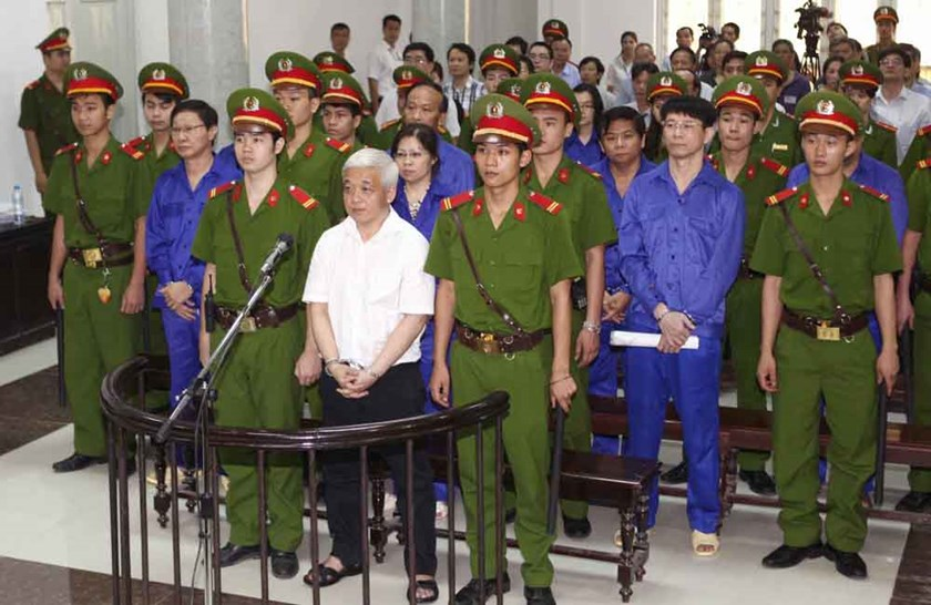 ACB co-founder Nguyen Duc Kien, 50, stood a trial in Hanoi for fraud, tax evasion and other charges. Photo credit: petrotimes.vn