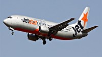 A Jetstar Pacific airplane. File photo