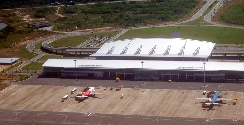 Phu Quoc International Airport. Photo: Dao Ngoc Thach