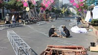 HCMC downtown street closes today for flower fest preparation