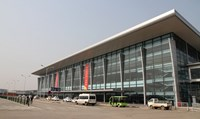 A building of Hanoi-based Noi Bai airport's domestic terminal. File photo