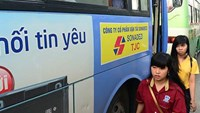 Ads on public buses can bring HCMC over $7.8 mln a year: transport department