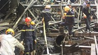 Survivor of Vietnam's fatal scaffolding collapse: 'We ran but were ordered to return to work'