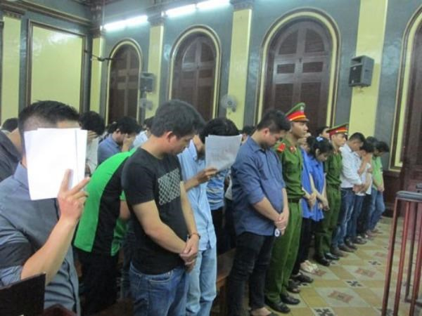 59 people stand a trial in Ho Chi Minh City on May 19 for their involvement with M88, a huge international online casino, in Vietnam. Photo: Diep Duc Minh