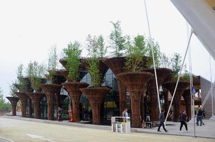 Vietnam's pavilion at Expo 2015 in Italy's Milan City. Photo credit: kienthuc.net
