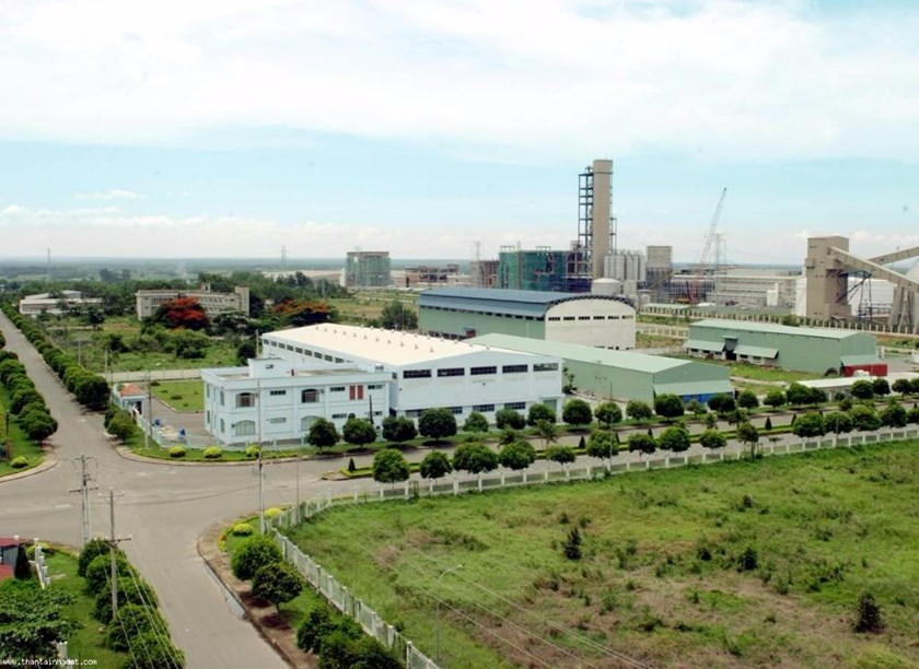 Nhon Trach Economic Zone in the southern province of Dong Nai. File photo