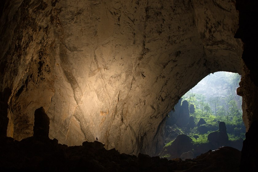 Son Doong Cave in the central province of Quang Binh. Photo credit: Oxalis
