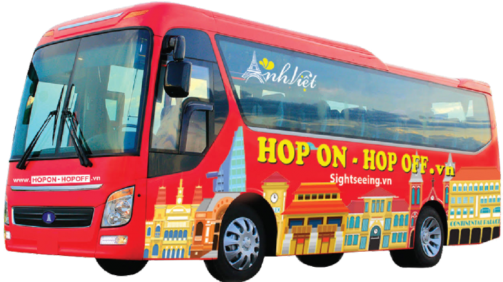 Hop-on hop-off bus service for tourists launched in HCMC