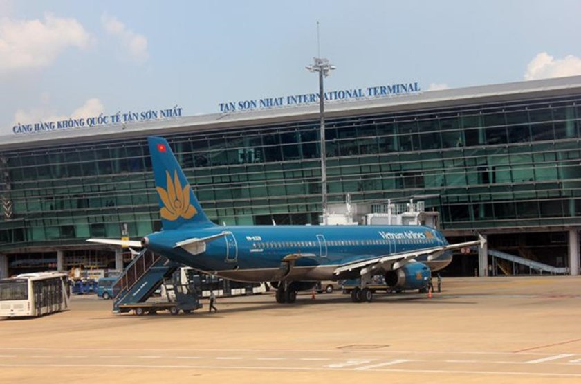 Tan Son Nhat International Airport, Ho Chi Minh City. Photo credit: Lao Dong