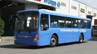 A Vinamotor bus. Photo credit: Vinamotor