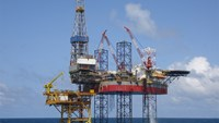 An undated file photo shows an offshore oil platform of PetroVietnam