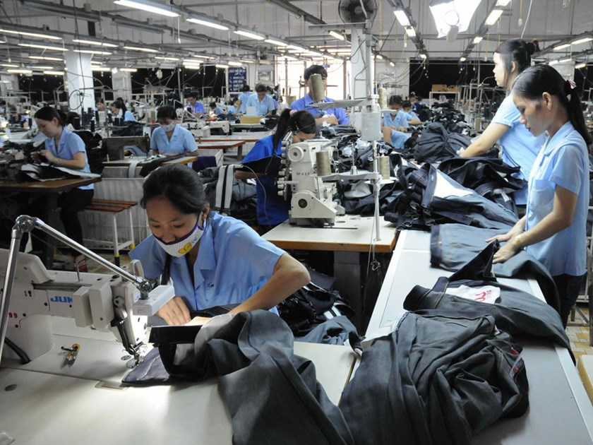 A garment factory in Ho Chi Minh City. Photo: Diep Duc Minh