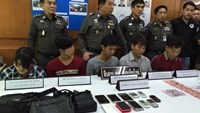 5 Vietnamese arrested for stealing in Thailand: report